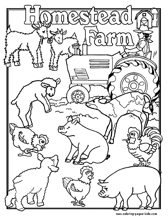 homestead farm farm color page family people jobs coloring pages color plate coloring