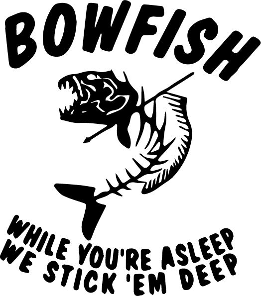 Bowfish SVG - get it free at www.svgcoop.com