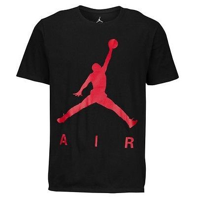 RARE JORDAN JUMPMAN AIR PEARLESCENT 100% COTTON 2XL T-SHIRT RETRO OG BRED 1 6 11
