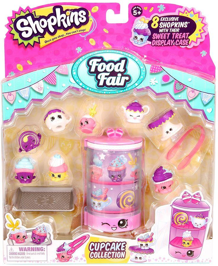 Shopkins S3 Food Fair Themed Packs Cupcake