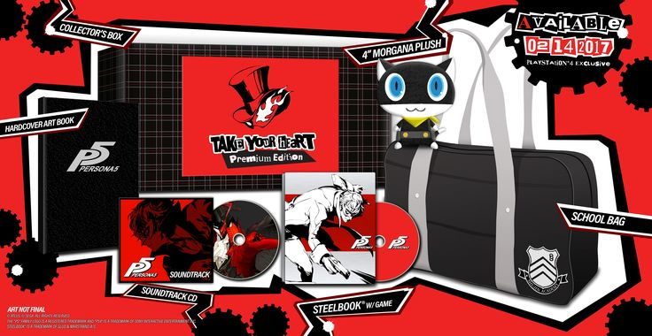 Atlus details Persona 5's retail goodies: Persona 5 will be out on Valentine's Day next year, but it's never too early to put down a…