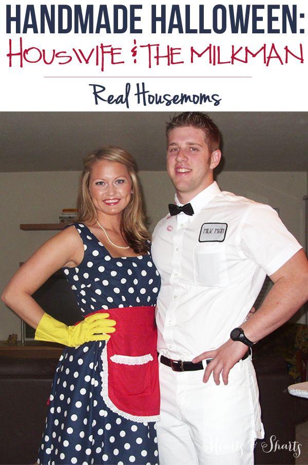Handmade Halloween: Housewife & the Milk Man | Real Housemoms