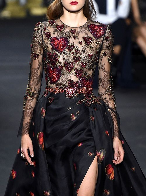 This would be my high fashion Valentine's Day dress  Elie Saab Haute Couture Fall/Winter 2016-17