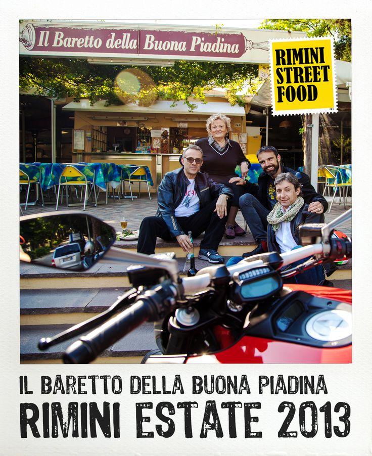 Il Baretto della Buona Piadina #rimini #food #streetfood #ducati