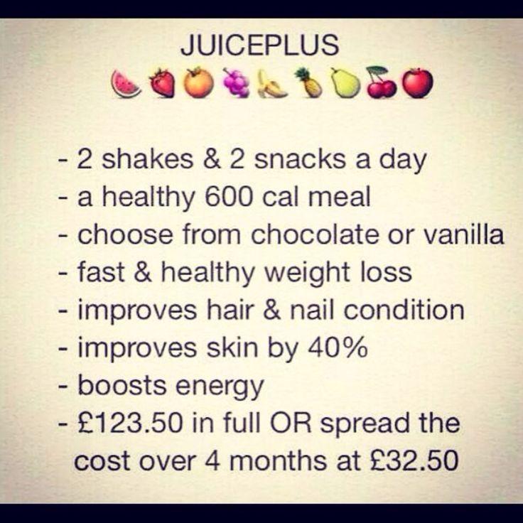 Juiceplus weightloss program that brings real results!