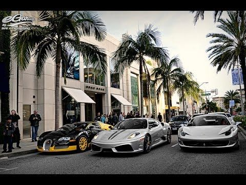 Rodeo Drive Visiting Beverly Hills California Los