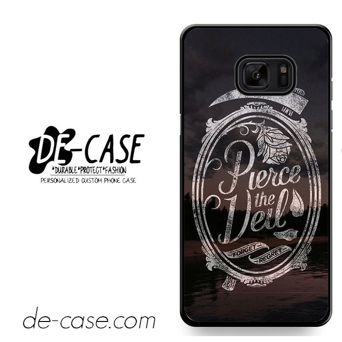 Pierce The Veil Forget Regret Cover Album Center Camera DEAL-8602 Samsung Phonecase Cover For Samsung Galaxy Note 7