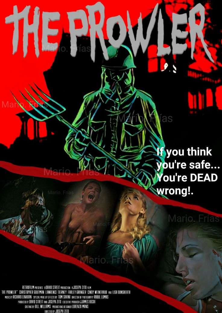 The Prowler 1981 Horror Movie slasher fan made edit By Mario. Frías