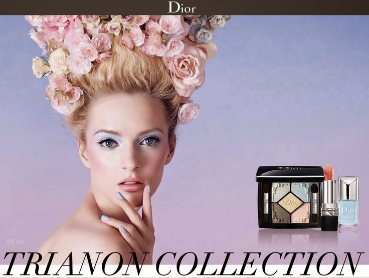 """Huiuiui... bei Dior wird's bunt Kinder! Als ich den neuen Look """"Trianon"""" zum ersten Mal sah, fühlte ich mich direkt zurück in die 1980er katapultiert."""