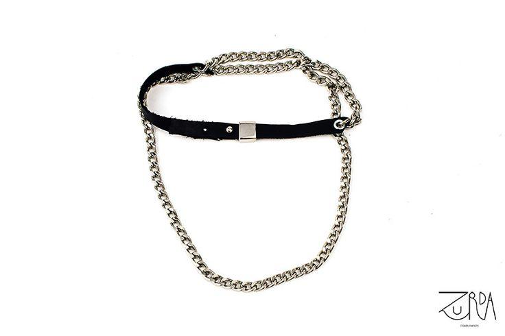 Collar Cima, diseñado por Zurda. #Zurda #collar #necklace #bisutería #cinturón #belt #bijou #diseño #design #Terrenal #AW1415