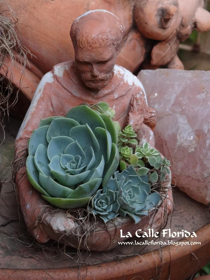 Mini Garden, para presentear sua mãe  www.lacalleflorida.blogspot.com,