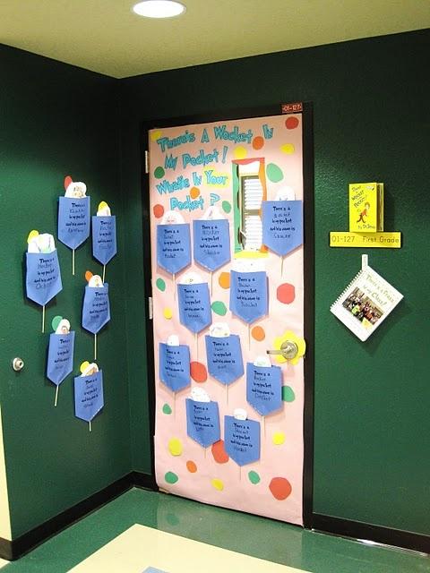 Cute Dr. Seuss Door