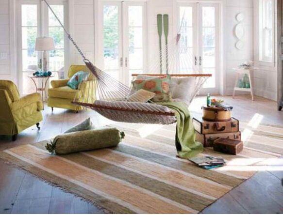 Indoor hammock idea