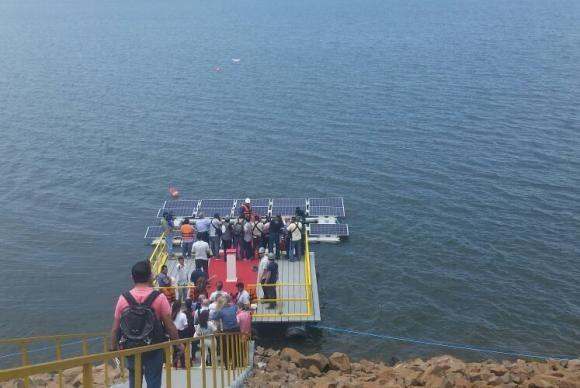 INFORMATIVO GERAL: 1ª Usina Solar Flutuante do Mundo no Lago da Hidre...