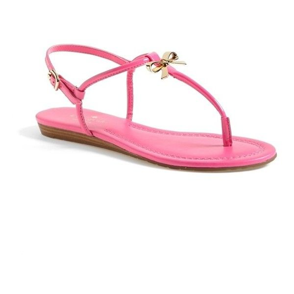 kate spade new york 'tracie' sandal ($89) ❤ liked on Polyvore featuring