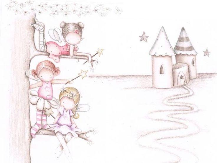 316 best images about imagenes infantiles on pinterest - Papel pintado infantil ...
