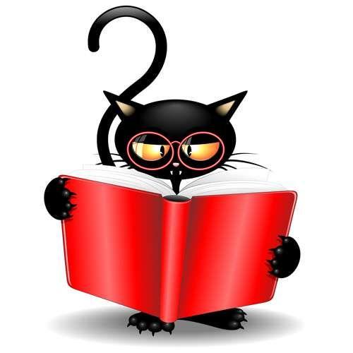 Schwarze Katzen – Vektorgrafik | Schwarze Katze – Lager Vektoren