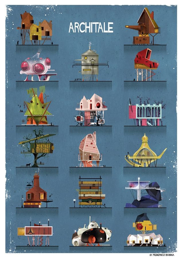 Federico Babina's ARCHITALE Brings Fairytales To Life
