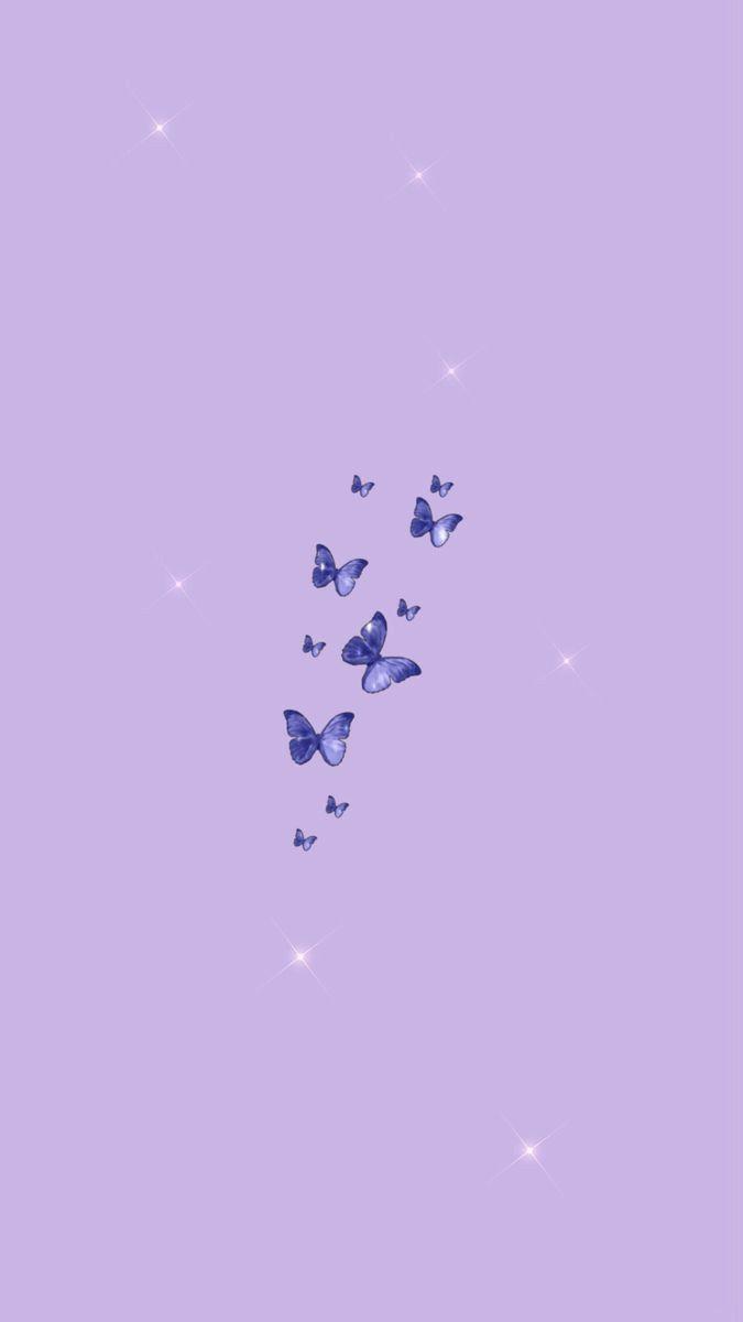 Aesthetics Wallpapers In 2020 Butterfly Wallpaper Iphone Purple Wallpaper Iphone Iphone Background Wallpaper