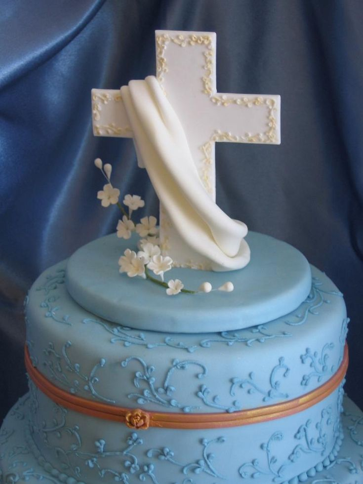 asian baby shower ideas for boy   Sweet Mischief Ja Cake Ideas: Christening Cakes