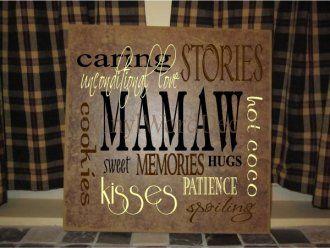 Mamaw Quotes From Grandkids. QuotesGram
