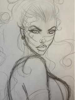 Quickie Rose sketch