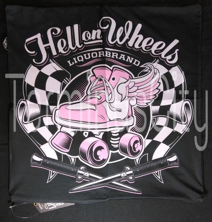 #LIQUOR #BRAND #ROLLERSKATE #LARGE #PILLOW #COVER #Roller #Skate #RollerSkate #PillowCase #Case #20x20 #ikea #Pink #Wings #Derby #RollerDerby #LiquorBrand