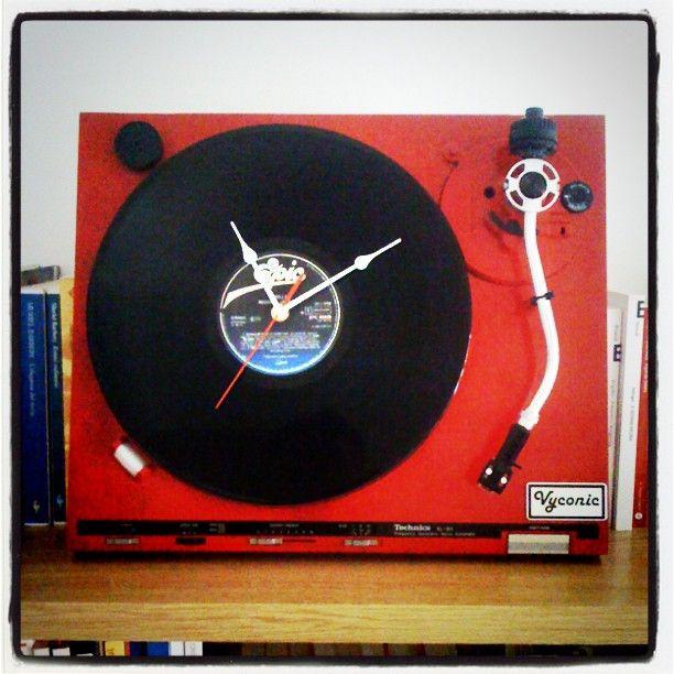 Epic clock for vinyl lovers!