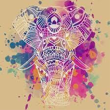 Resultado de imagen de elefante hindu para imprimir