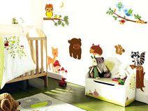 Wandaufkleber für Kinderzimmer Tiere