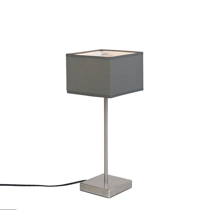 Tischleuchte VT 1 grau Jetzt bestellen unter: https://moebel.ladendirekt.de/lampen/tischleuchten/beistelltischlampen/?uid=97268a7b-6ab6-50a8-a340-f1233dbd509f&utm_source=pinterest&utm_medium=pin&utm_campaign=boards #lampen #tischleuchten #modern #beistelltischlampen Bild Quelle: www.lampenundleuchten.de