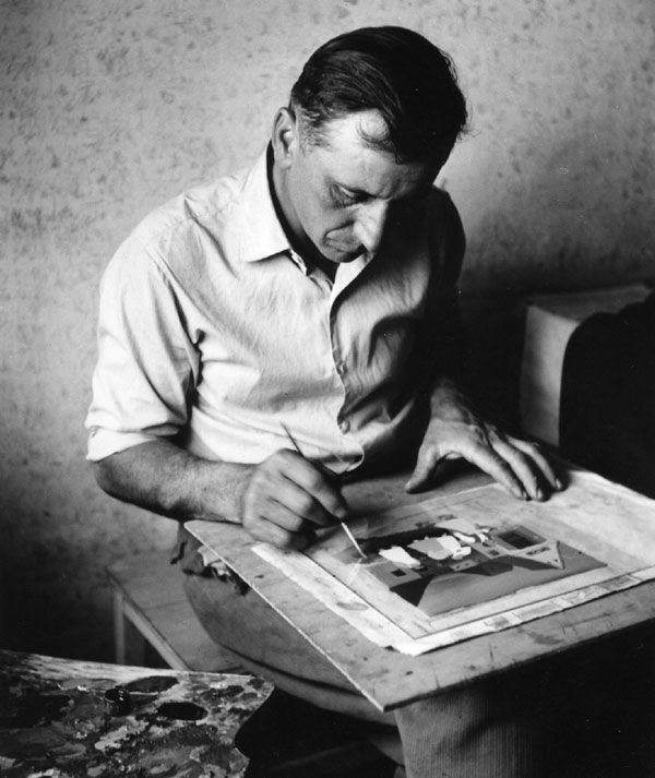 Ivan Generalić (1955) (taustaa). ..... Ivan Generalić (21 joulukuuta 1914 - 27 marraskuuta 1992) oli kroatialainen naiivistinen taidemaalari. Generalić syntyi Hlebinessa lähellä Koprivnicaa. Hänen töidensä aiheita ovat häät, maatilan työt, juhlat sekä hautajaiskulkueet.