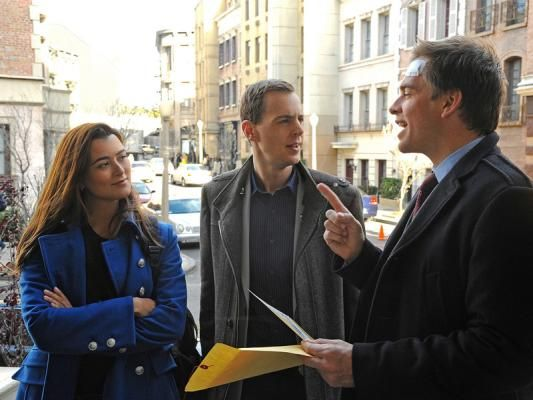 Ziva, Timothy and Tony - the three musketeers