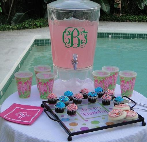 Everything you ever wanted with a monogram! Great store!