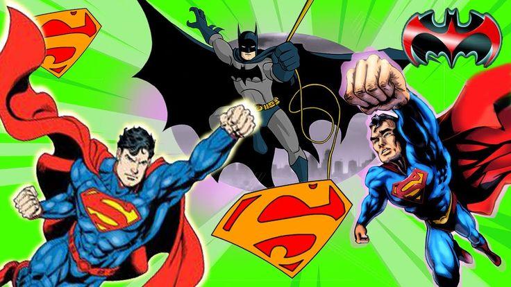 Superman Finger Family Bad Time New Rhyme | Superheroes Finger Family Co...