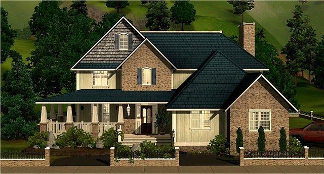 Oconnorhomesinc Com Astonishing Sims 3 Suburban Home Nice Family Houses From The Exchange Forums Sims House Family House Sims Building