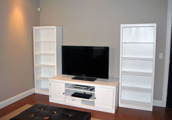 DIY TV Stand Billy Bookcase Makeover I think this is a good – Tv Stand Bookcase