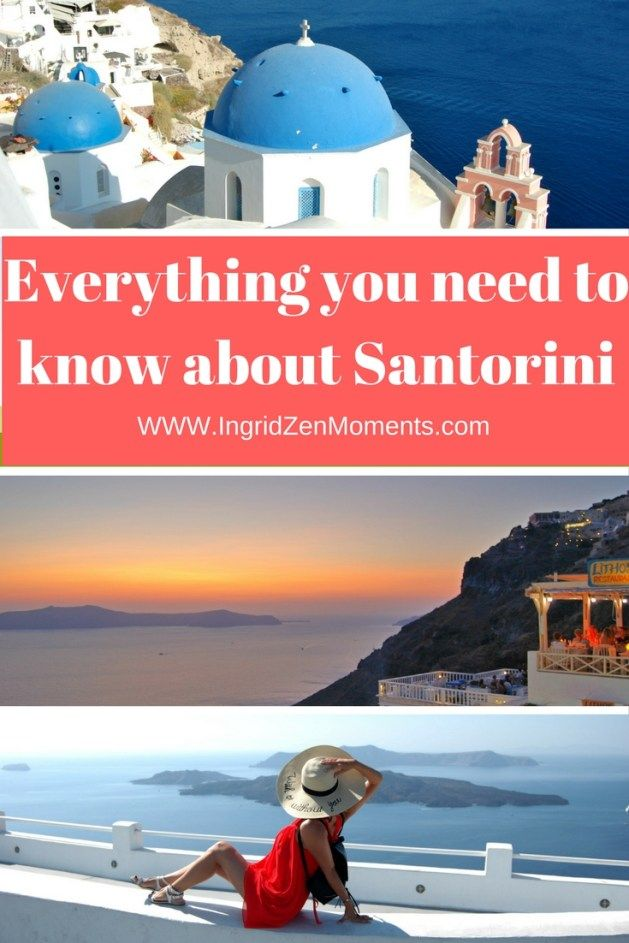 Everything you need to know about Santorini Island, from where to stay, to what to see and where to eat.