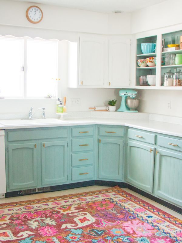 Chalk Paint Is The Practically Zero Prep Way To Transform Your Kitchen Cabinets Painted Kitchen Cabinets Colors Chalk Painted Kitchen Cabinets Colors Chalk Paint Kitchen Cabinets