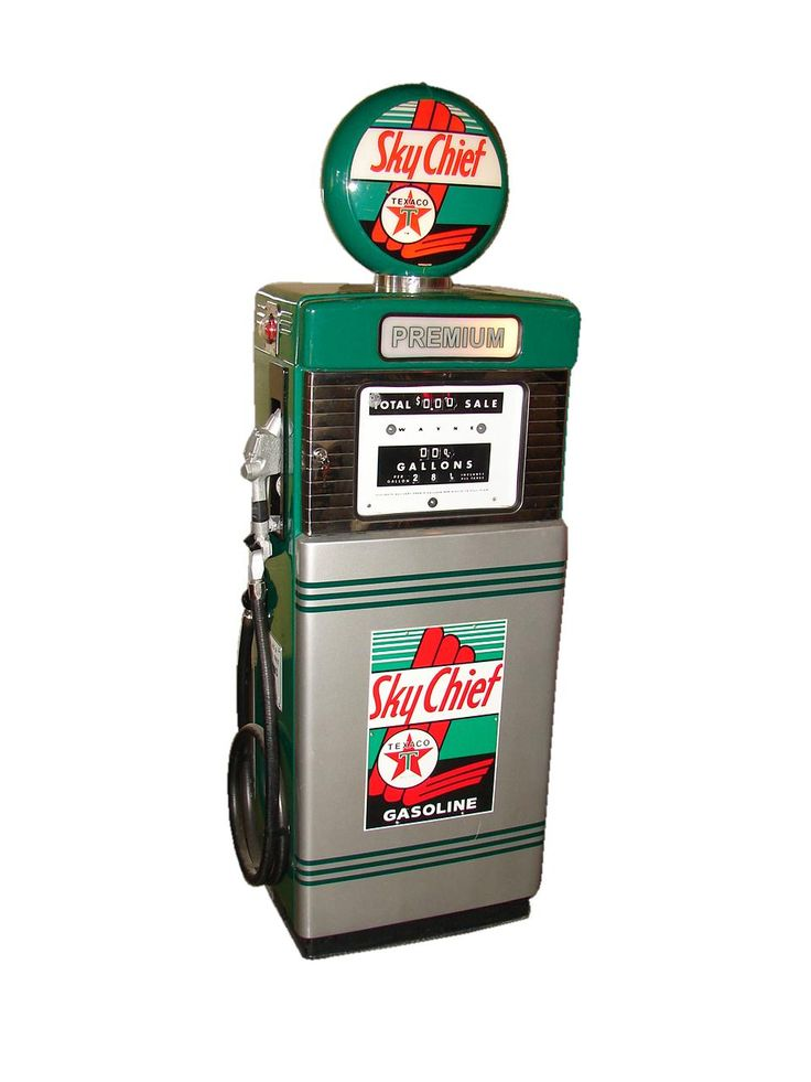 1950s Gas Pump All Shook Up Pinterest Chief Click