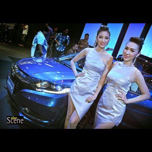 Honda HR-V launch at Siam Paragon in Bangkok yesterday. More photos and full story bangkokscene.com #bangkok #bangkokscene #honda #hondathailand #siamparagon #hondahrv