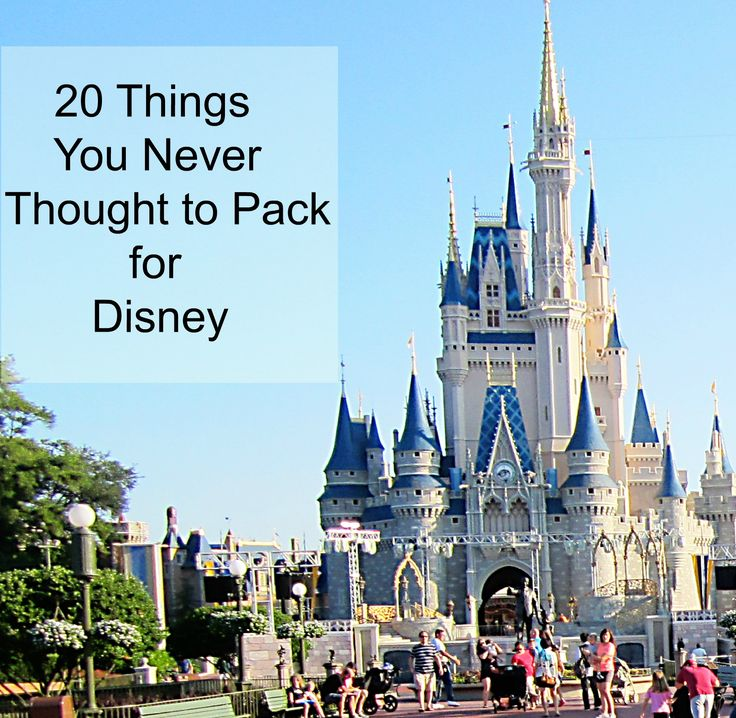 Great packing tips for disney (most are also great for travel anywhere)