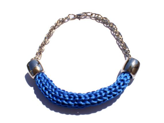 SPECIAL OFFER French Spool Knitted Necklace by twolittlefairies