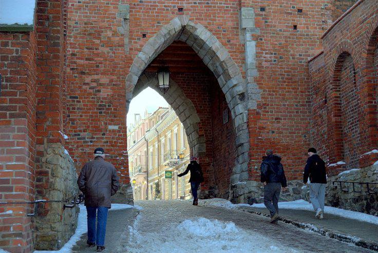 Sandomierz zimą