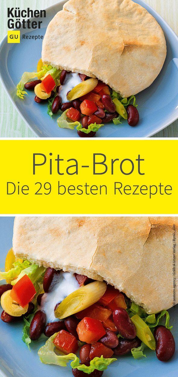 Ob zum Mittag für das Büro, zum Picknicken oder zum Filmabend mit Freunden: Pita-Brote können in verschiedensten Varianten und für jeden Geschmack…