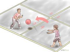 Four Square is a great game to increase proprioception!