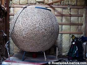 Biggest Ball of String, Weston, MO  8. Best road side attraction #EsuranceDreamRoadTrip