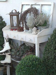 Winter - Tischchen - Wohnen und Garten Foto