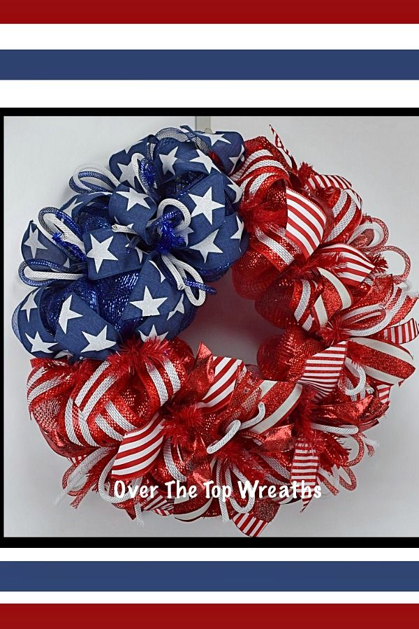 Patriotic Wreath Inspiration
