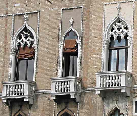 Ogee Arched Windows In Venice Gothic ArchitectureArchitecture Interior DesignArch